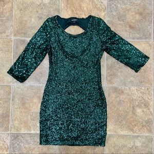 Express Holiday night out dress